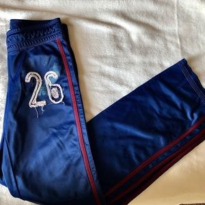 Red and Blue Track Pants